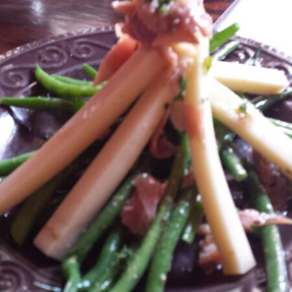 Green Beans With Provolone  - Santiago's Bodega, Key West, FL
