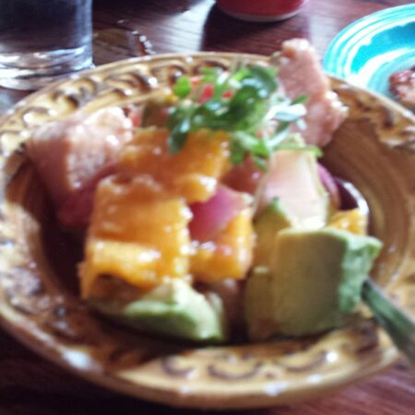 Tuna Ceviche - Santiago's Bodega, Key West, FL