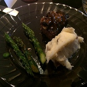 Steak, Asparagus And Mashed Potatoes - Seasons 52 - Jacksonville, Jacksonville, FL