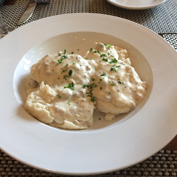 Biscuits and Gravy - Poogan's Porch Restaurant, Charleston, SC