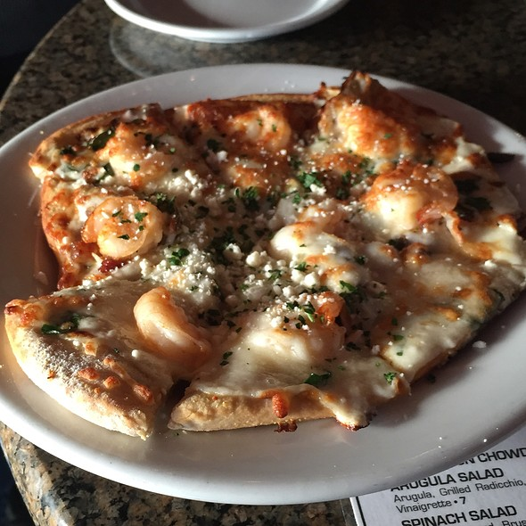 Shrimp Flatbread - Café Trio, Kansas City, MO