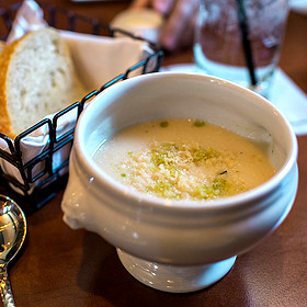 Cauliflower Veloute - Bedford Village Inn, Bedford, NH