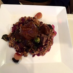 Duroc Pork Shank - Corbett's Fine Dining, Louisville, KY