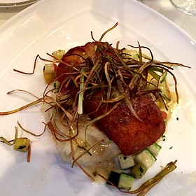 Sea bass - Corbett's Fine Dining, Louisville, KY
