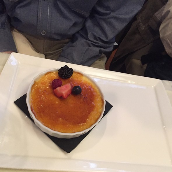 Créme Brulé - Corbett's Fine Dining, Louisville, KY
