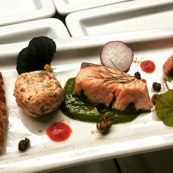 Salmon Trio - Brentwood Restaurant & Wine Bistro, Little River, SC