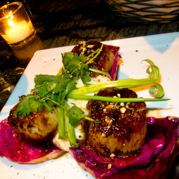 Scallops - Tantra Restaurant & Lounge, Miami Beach, FL