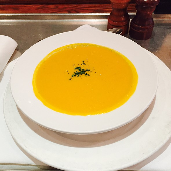 Pumpkin Ginger Soup - Bistrot Zinc, Chicago, IL