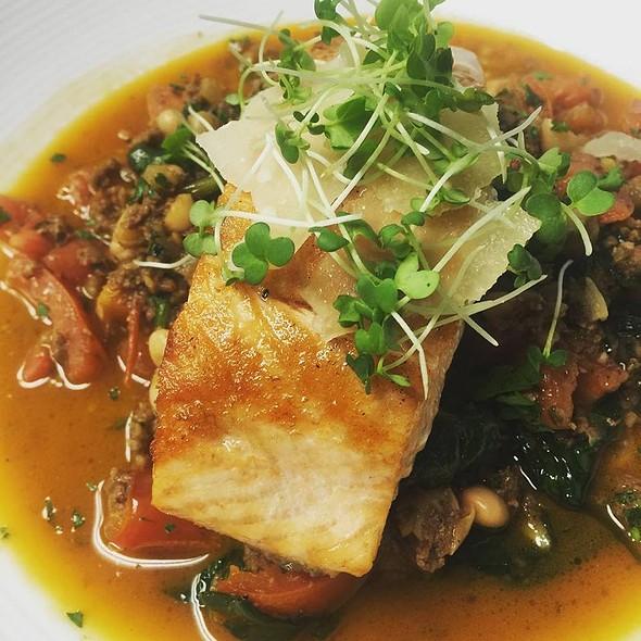 Grilled Salmon - Isabella's Italian Trattoria, Lynchburg, VA