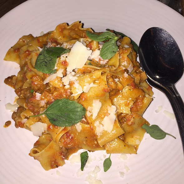 Pappardelle Bolognese - Osteria La Buca, West Hollywood, CA