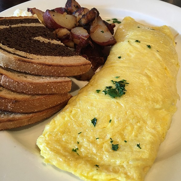 Provolone Bacon Omelette - Perch Pub, Philadelphia, PA