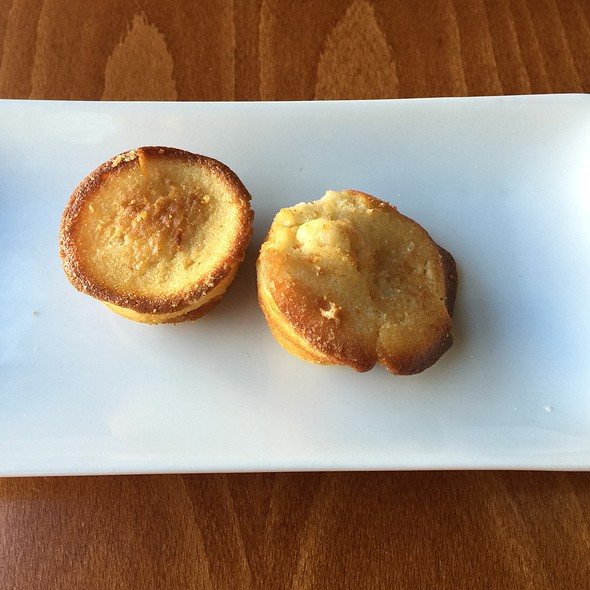 Vanilla Muffins Complimentary - Sweet Grass Grill, Tarrytown, NY