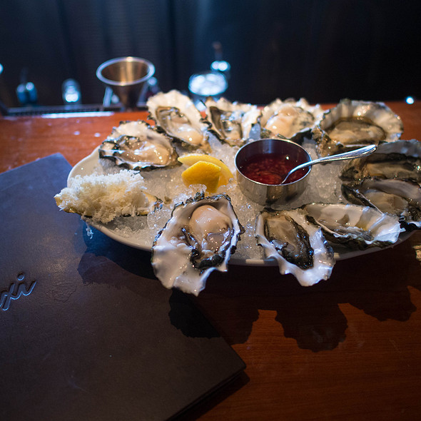 Oysters - Araxi Restaurant & Oyster Bar, Whistler, BC