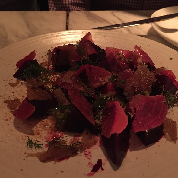Cured Beets - Lula Cafe, Chicago, IL