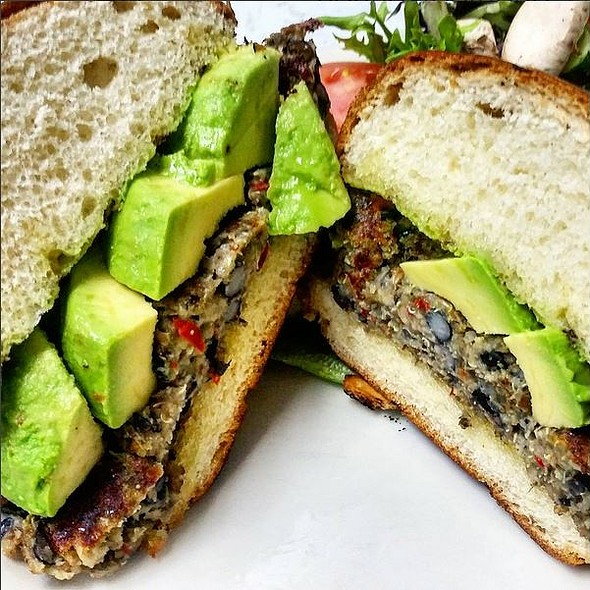 Veggie Burger - The Houndstooth Pub, New York, NY
