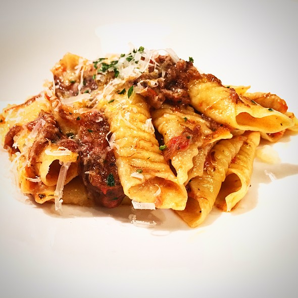 Oxtail Ragu - Tosca Ristorante, Washington, DC