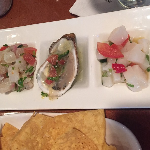 Ceviche Sampler - Harry's Seafood Grill, Wilmington, DE
