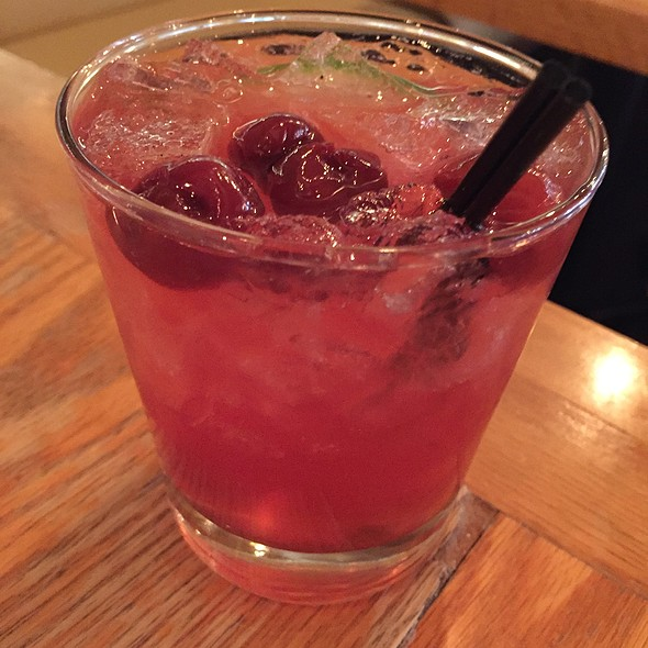 Cherry Lime Sangria - Boqueria - DC, Washington, DC