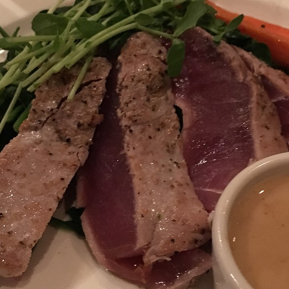 Pan Seared Ahi - Pacifica Del Mar, Del Mar, CA