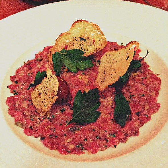 Beef Tartare - Sidecut Modern Steak + Bar – Four Seasons Resort, Whistler, BC