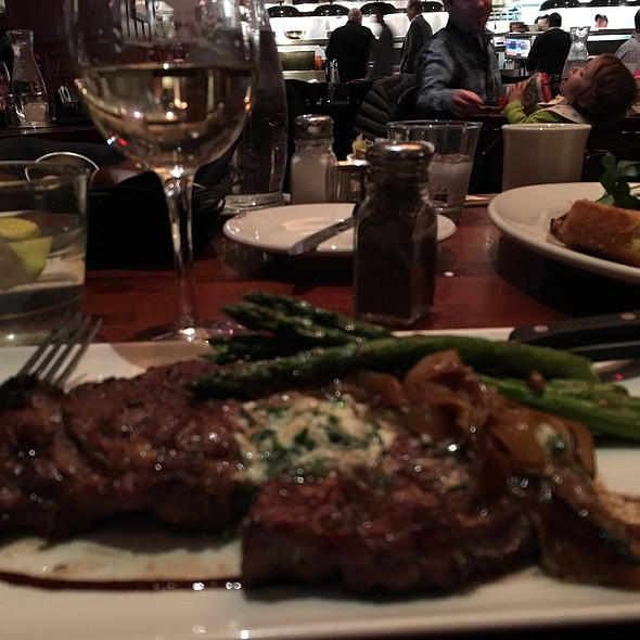 Salt & Pepper Ribeye With Blue Cheese Butter - Weber Grill - Schaumburg, Schaumburg, IL