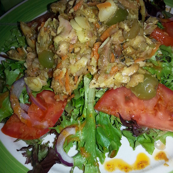 Curry Chicken Salad - Banana Cafe, Key West, FL