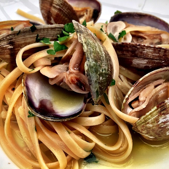 Linguini and Clams - Baci Restaurant , San Diego, CA