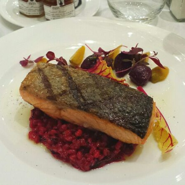 Pan Roasted Atlantic Salmon - Astor Court, New York, NY