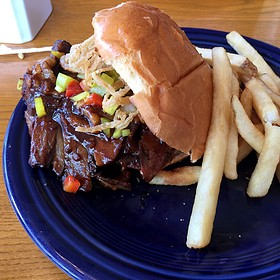 Mocha Stout Beef Brisket Sandwich - Corner Kitchen, Asheville, NC