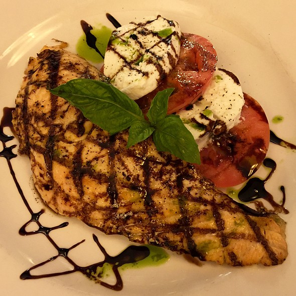 Salmon Caprese W Mozzerella And Tomato And Basil And Vinagrette - Bobby Van's Grill - 50th Street, New York, NY