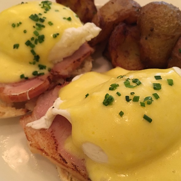 Eggs Benedict - The Restaurant at The Standard, Downtown LA, Los Angeles, CA