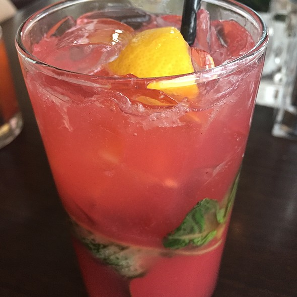 Strawberry Basil Lemonade - Top of the Hub, Boston, MA