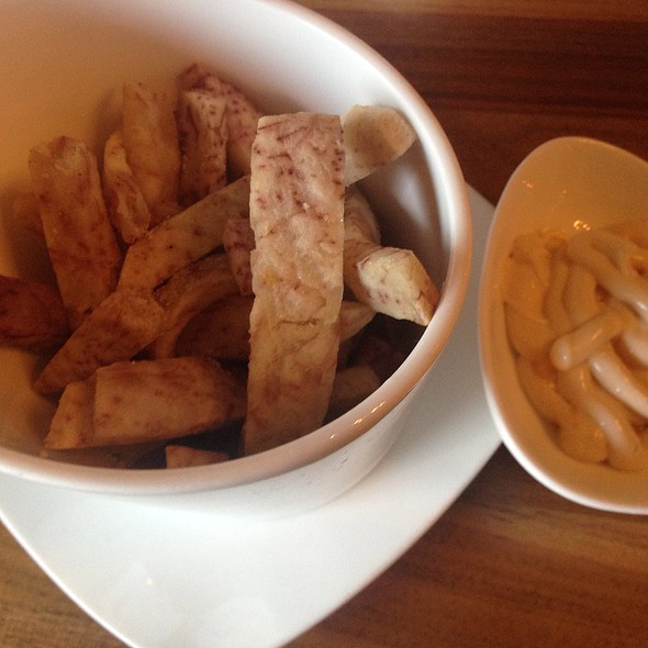 Tarot Root Fries - Niu Japanese Fusion Lounge, Chicago, IL