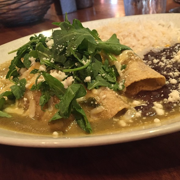 Enchiladas Del Mar - Meso Maya - Downtown Dallas, Dallas, TX