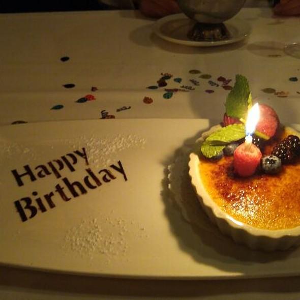 Birthday! - The Capital Grille - Houston, Houston, TX
