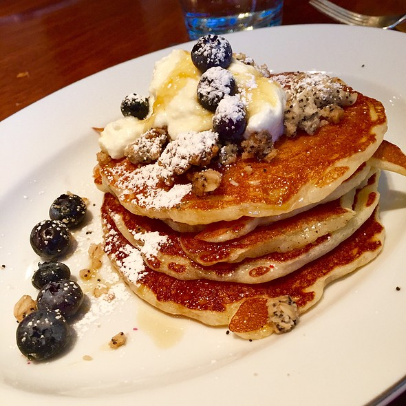 Lemon Ricotta Pancakes - Blue Duck Tavern, Washington, DC