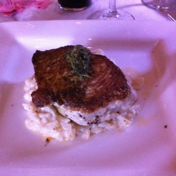 Thresher Shark On A Bed Of Rissotto  - Cristiano Ristorante, Houma, LA