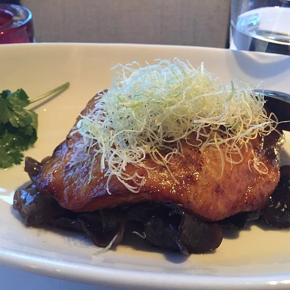 Black Cod With Sha Cha Sauce - Min Jiang, London