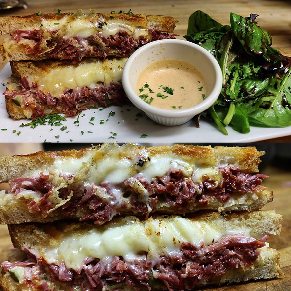 Pastrami Toastie - CK14 - The Crooked Knife at 14th Street, New York, NY