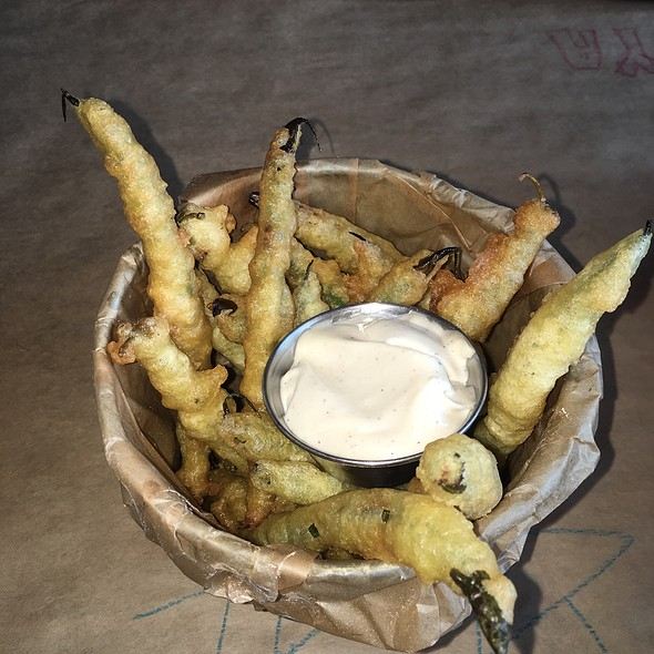 Green Bean Fries - Burger & Beer Joint - South Beach, Miami Beach, FL