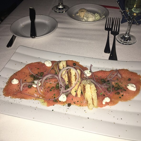 Smoked salmon - Top of the World Restaurant - Stratosphere Hotel, Las Vegas, NV