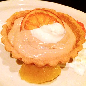 Blood Orange Tartlette - Meriwether's Restaurant & Skyline Farm, Portland, OR