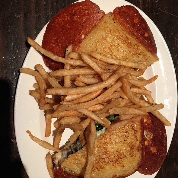 Prime Rib Grilled Cheese - Cannery Row Brewing Company, Monterey, CA