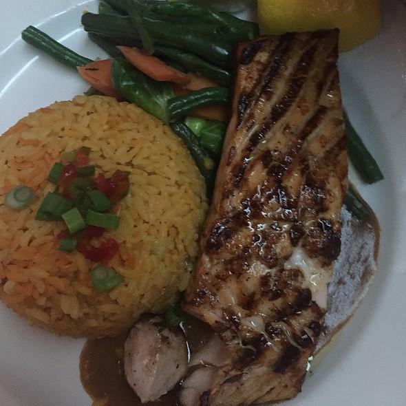 Grilled Salmon - Bourbon Street, Bayside, NY