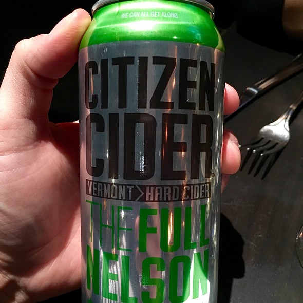 Citizen Hard Cider - Russell House Tavern, Cambridge, MA