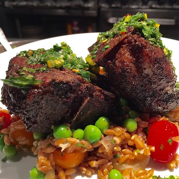 Lamb Chops & Salsa Verde - Crow, Seattle, WA