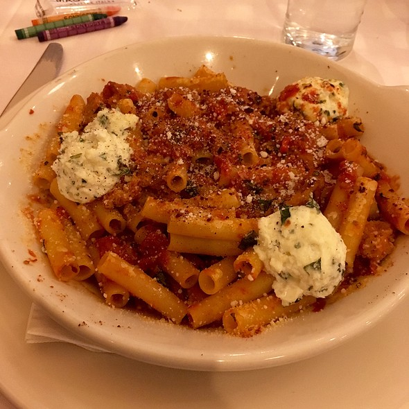 Lighter Take Baked Ziti  - Maggiano's - Hackensack, Hackensack, NJ