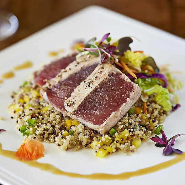 Seared Tuna Oolong marinated ahi tuna - Cobalt Restaurant and Lounge - Vero Beach Hotel and Spa, Vero Beach, FL