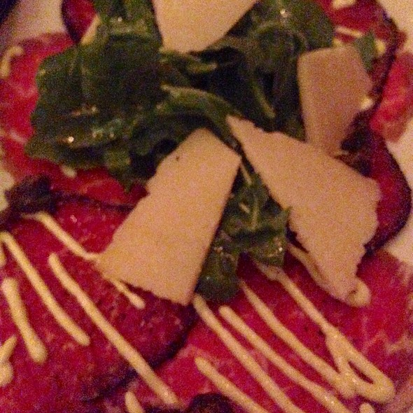 Beef Carpaccio - Mark's American Cuisine, Houston, TX