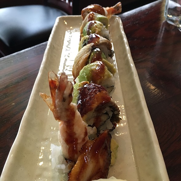 Dragon Roll - YamaSho, San Francisco, CA